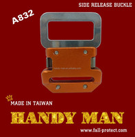 A832 Harness Aluminum/Steel Side Quick Release Safety Buckle