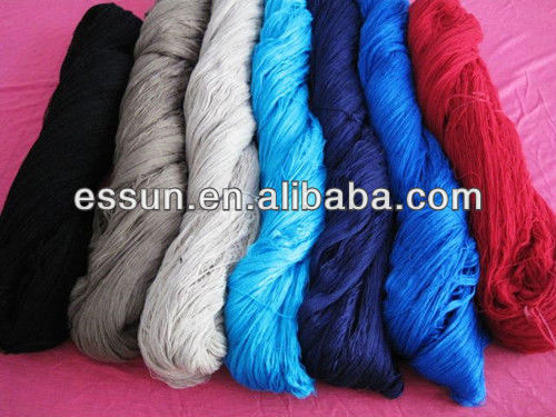 viscose nylon angola core spun yarn
