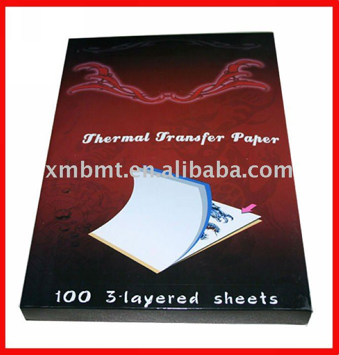 Novelty Tattoo Stencil Copier Thermal Papers/Tattoo Stencil Paper