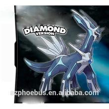 Hot selling in USA For DS game cards Pokemon Heartgold Soul Silver Playing card