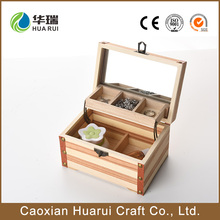 cheap natural handmade custom decorative wooden crates for weddig sale