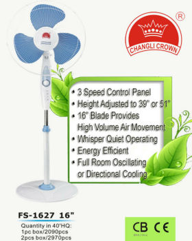 hot sale Standing Fan with heavy base high quality