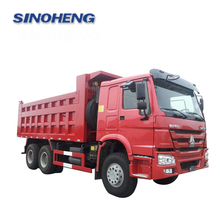 Reinforced Type howo dump truck price for sale