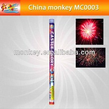 "big size assorted 1.5"" inch thunder king multi shots 8shots roman candel spring report fireworks (MC0002)"