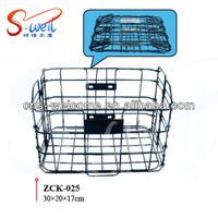 ZCK-025 steel wire folding front bike/bicycle basket