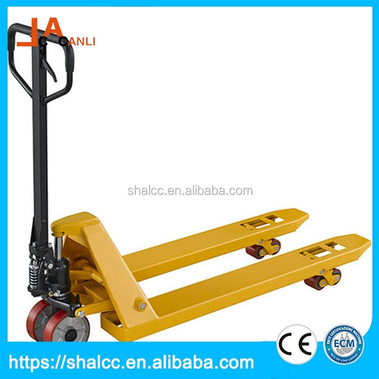 Best price safe and stable electric manual high lift pallet truck