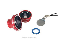 LIEQI LQ-010 Magnetic 3 in 1 Macro Wide Angle Fisheye camera lens for Mobile phone alibaba china