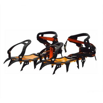 new model 12 teeth mountain climbing adjustable nonslip snow ice crampons for shoes