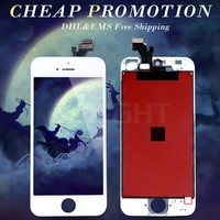 Wholesale price phone lcd complete with touch screen for iphone 5g with good quality
