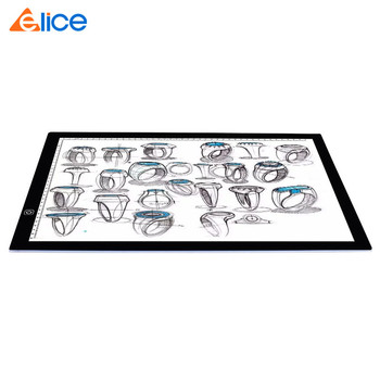 Canada Best A3 Tracing LED Light Pad Animation Sketching Stencil Tracing Light Box Ultra-thin Adjustable Copy Board for Drawing