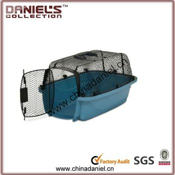 luxury pet cage dog carrier aluminum dog cage