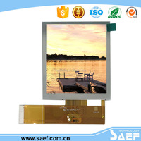 sunlight readable lcd panel 3.5 inch ,480* (RGB )*640 tft lcd transflective touch screen with wide viewing angle