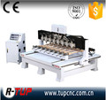 china the best 4 axis rotary cnc router machine, Cylinder cnc engraving machines, multi heads 4 axis cnc router