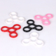 new fidget Relieve stress plastic ABS high speed Hand Spinners fidget Toy for games Tri Finger Spinner