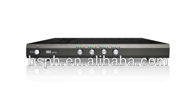 400 watt 4 zone extention digital amplifier for home Sound system and Public Address Amplifier System