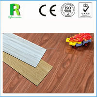 UV coating surface treatment High Quality Self Adhesive Plastic PVC vinyl flooring plank