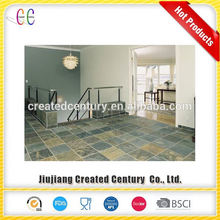 Excellent quality interlocking floor tiles slate outdoor floor tiles