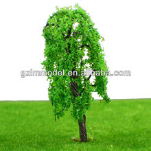 scale iron wire cedar tree/fir tree handmake moel 9CM for Train Layout HO scale model decoration model materials