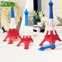 3 in 1 Colourful France Flag Colors EiffeTower Craft Multi-colored Fashion Home Decoration PARIS EIFFEL TOWER Model