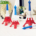 3 in 1 Colourful France Flage Colors EiffeTower Craft Multi-colored Fashion Home Decoration PARIS EIFFEL TOWER Model
