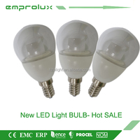 newly designed P45 300 degree low heat no uv led light bulb
