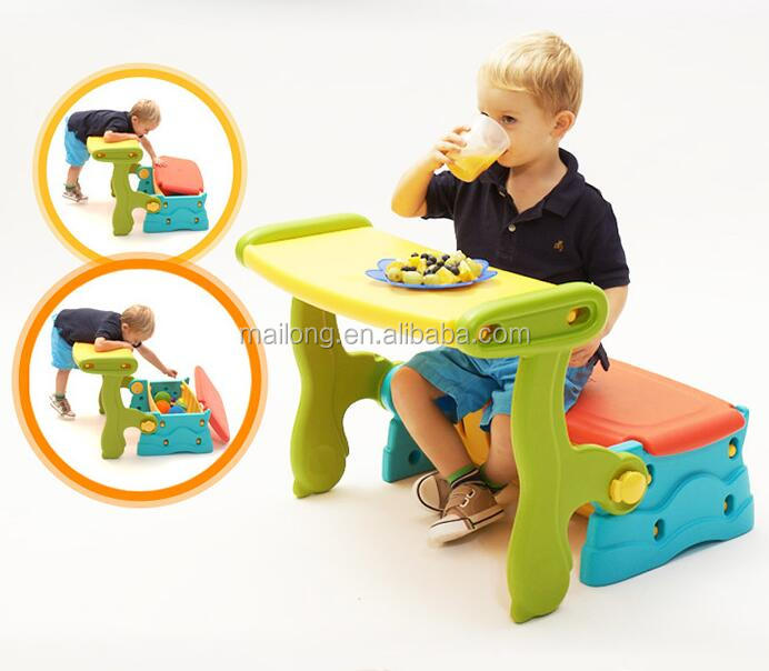 Design Multifunctional learning table locker children table stool BB chair