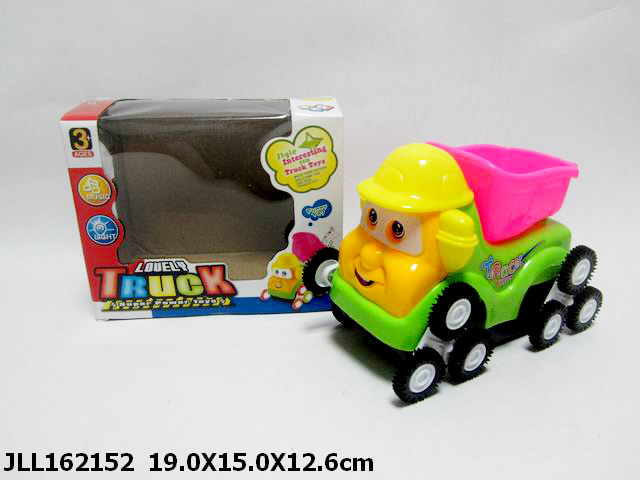 new hot toys kids b/o tip lorry electric skip car dump car with light and music