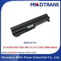 Top Rechargeable Laptop Battery Supplier for LG X140 A505 SQU-902 11.1V 5.2Ah 58Wh Black