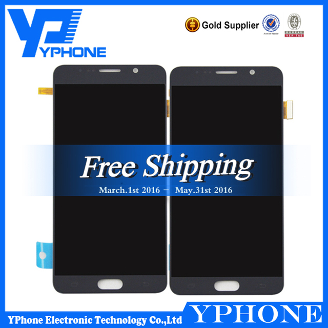 Cheapest Price Lcd for samsung galaxy note 5 Lcd complete, Original for Samsung Note 5 Lcd Screen Digitizer, new note 5 display