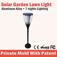 Solar Power Led Terrace Solar Led Garden Light Pole Light