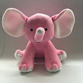 Wholesale Stuffed Soft Toy Pink Big Ear Elephant/Plush Big Ears Elephant Toy