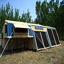 Quickly set up by one person 7FT Camper Trailer Tent with gas struts