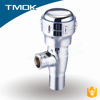 middle east bathroom toilet chromed plated polishing lead free NSF brass stem angle valve in oujia valve TMOK china three way