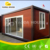 Mobile container for living/prefab container homes