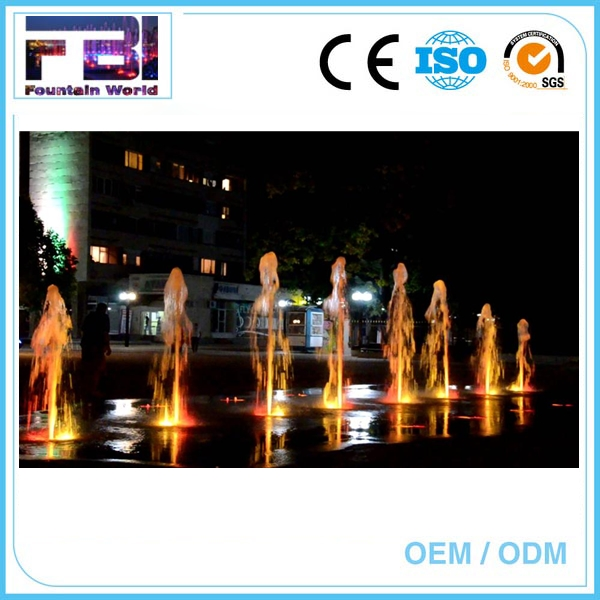 Outdoor water music fountain for sale cascading water fountains square floor water fountains