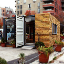modified shipping container house/container restaurant