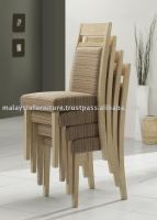 Stackable wooden Chair die restaurant