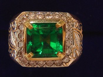 Natural Emerald Rings (Code: 0036)