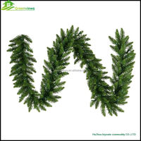 Artificial Christmas garland christmas wreaths christmas door wreath