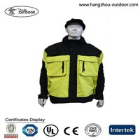 High Visibility Waterproof Auto Racing Jacket