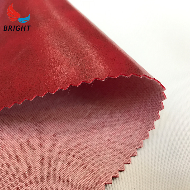 Used best waterproof imitation leather fabric nap cloth price per meter