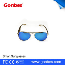 2017 New models fashion unisex uv400 polarized sunglasses for party and gifts