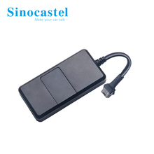 sinocastel mini cheap live gps tracking anti lost tracker for Car/Motorcycle/Electric Bike