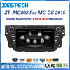 ZESTECH car sat navi head unit for MG GS 2015 autoradio 2 din dvd gps