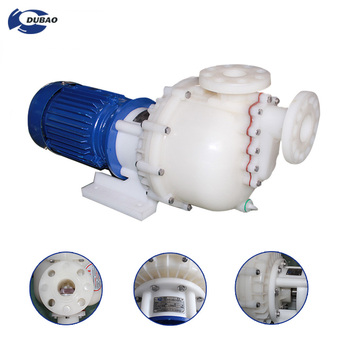High performance PVDF electric acid centrifugal chemical pump with CE certification