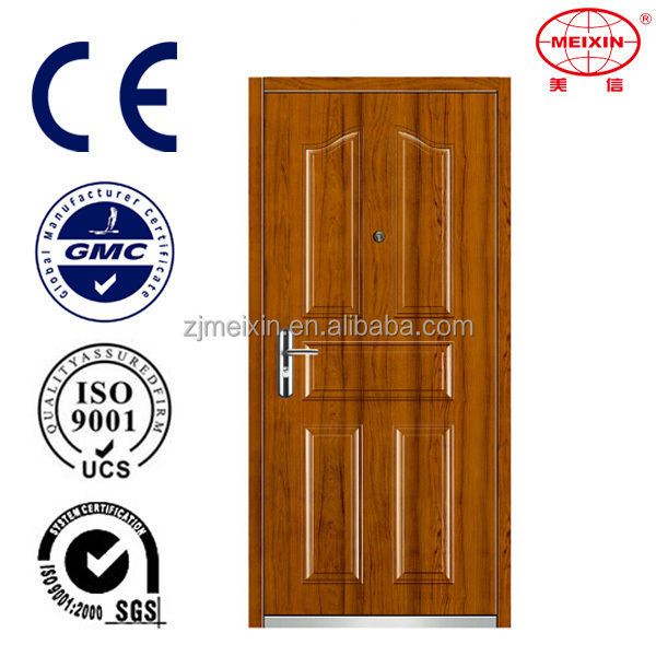Standard Certificate 2016 Hot Sale Main Decorative Steel Doors