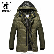wholesale european style mens clothing factory OEM design heated down windbreaker waterproof varsity jacket for men