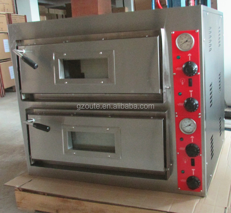 High Quality Pizza Hut Electric Conveyor Pizza Oven With 2 pieces Pizza Stone