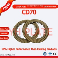 Factory chongqing cd70 motor parts,plate cg150 titan motorcycle,OEM quality rubber disc