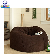 New Arrival Plush Square Fluffy Stool ,Inflatable Otteman Pouf Manufacturer